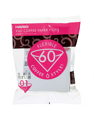 Hario V60-01 kaffefiltre