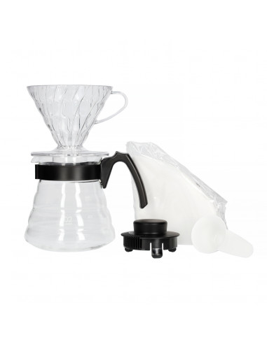 Hario V60 bryggesæt: kaffetragt,...